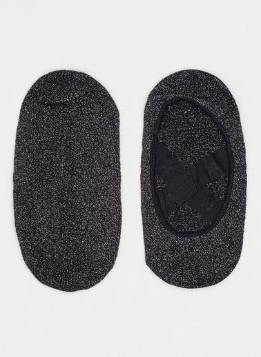 Katia & Bony Asta Yoga Basic Görünmez Çorap  Siyah